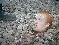 Vyvyan is beheaded but yet he still lives
